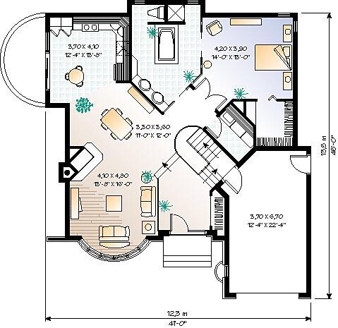 Casa de madera casas prefabricadas foto casa modelo ref for Planos de casas americanas