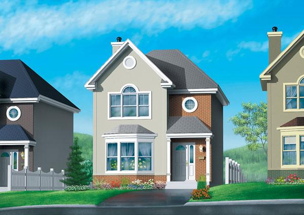 Casa de madera casas prefabricadas foto casa ref 31767 area 120 m2 - Casas de madera canadiense ...
