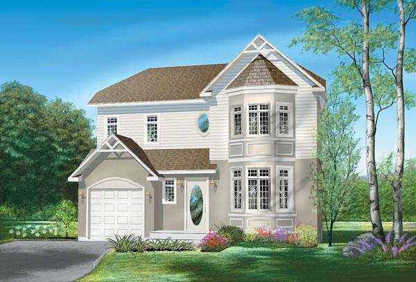 Casa de madera casas prefabricadas foto casa ref 31811 for Casas canadienses