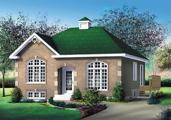 Casa de madera casas prefabricadas foto casa ref 31960 for Casas americanas de madera