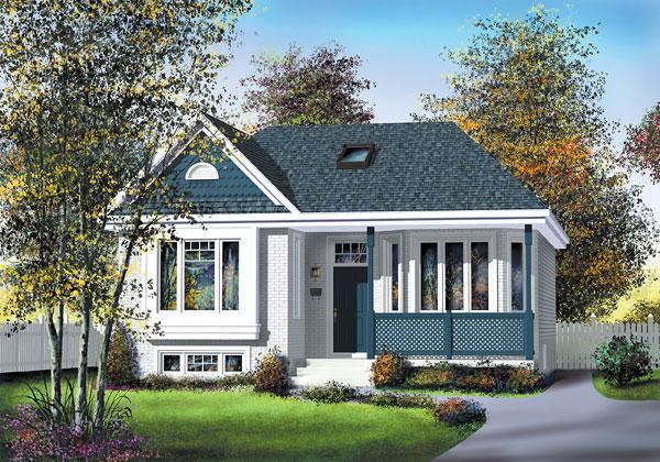 Casa de madera casas prefabricadas foto casa ref 31995 for Casas americanas de madera