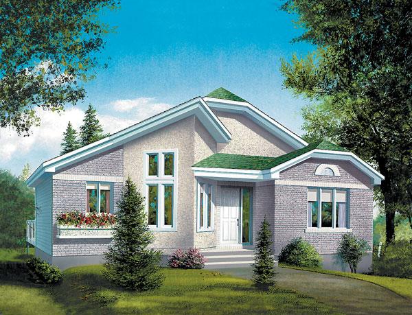 Casa de madera casas prefabricadas foto casa ref 31706 - Casas americanas interiores ...