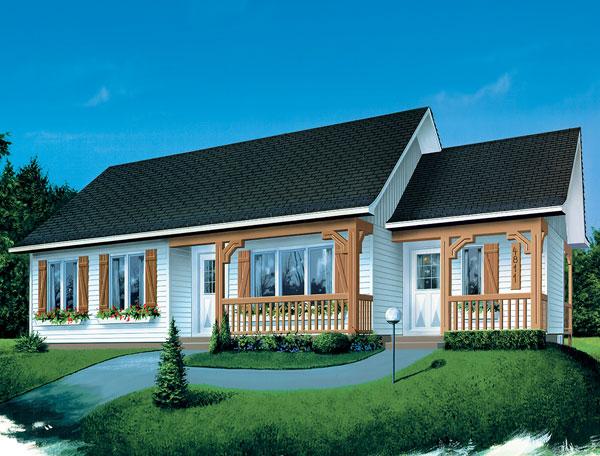 Casa de madera casas prefabricadas foto casa ref 31733 area 101 4 m2 - Casas prefabricada de madera ...
