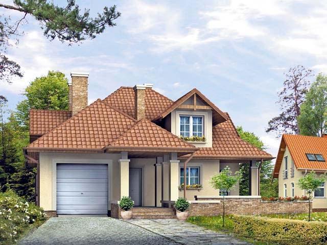 Casa de madera casas prefabricadas ref alt 200m2 garaje for Casas prefabricadas para terrazas