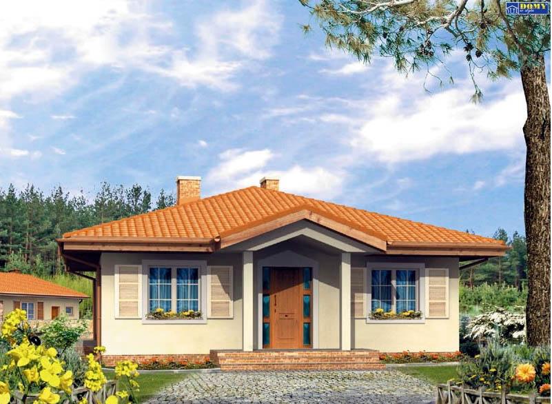 Casa de madera casas prefabricadas foto casa elka area 110 m2 terraza 4 m2 - Casas prefabricada de madera ...