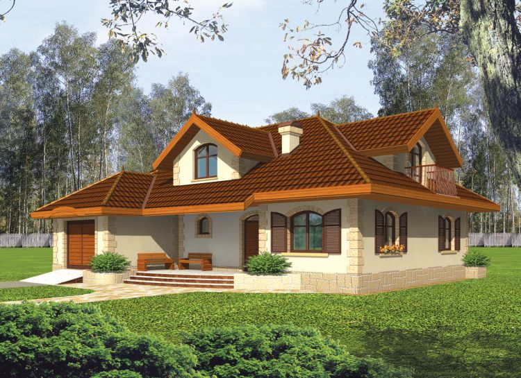Casa de madera, Casas prefabricadas, FOTO CASA MARYSIA, area 202 m2 ...