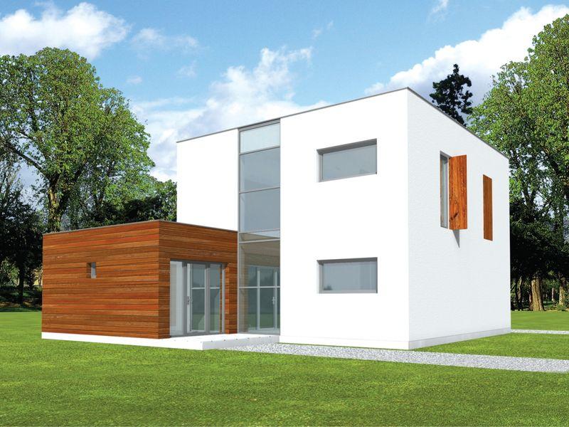 Casa de madera casas prefabricadas foto casa ref aron area 212 m2 garaje 20 m2 - Casas americanas planos ...