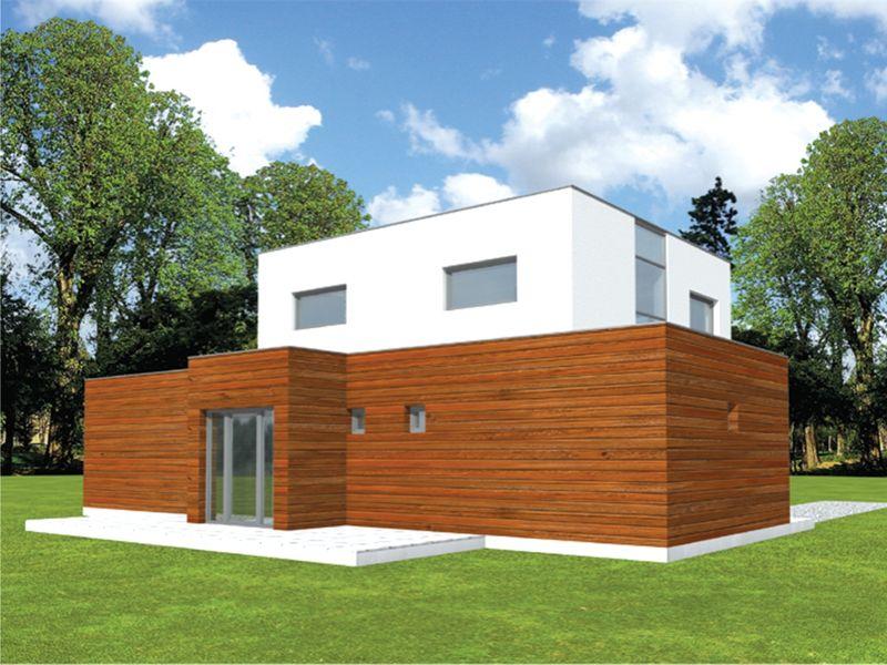Casa de madera casas prefabricadas foto casa ref aron - Casas prefabricadas grandes ...