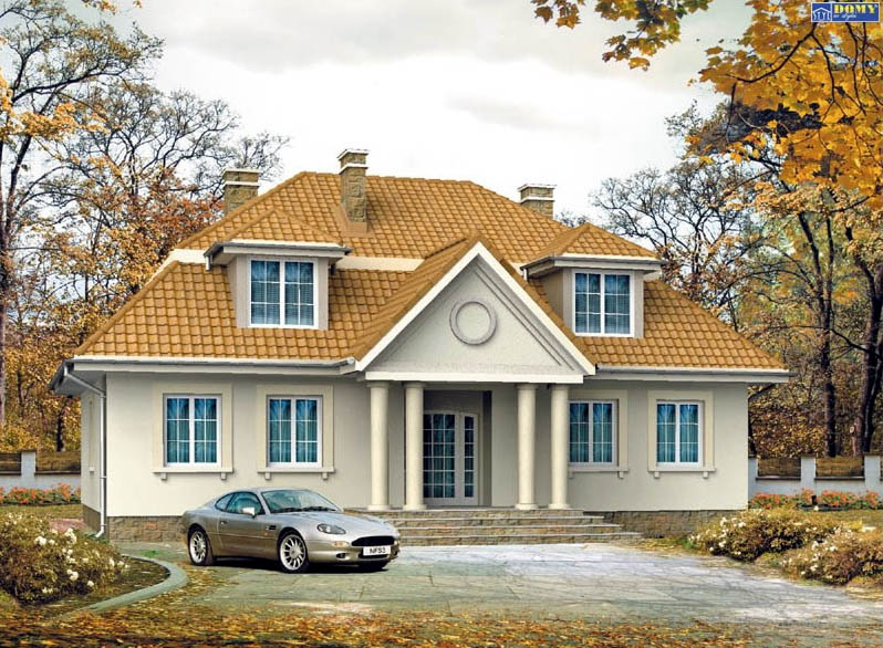 Casa de madera casas prefabricadas opus area 222 m2 for Casas americanas planos