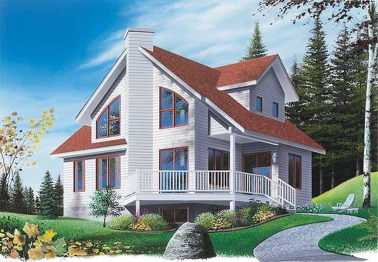 Casa de madera casas prefabricadas ref e02005 area 119 m2 for Casas americanas de madera