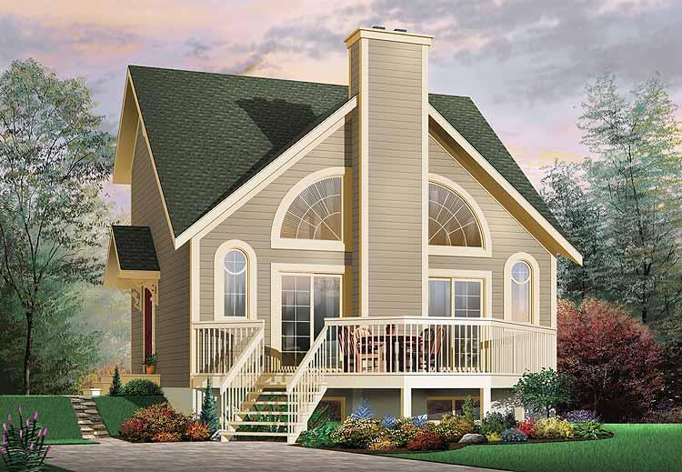 Casa de madera casas prefabricadas ref e11193 area 106 6 m2 for Casas americanas de madera