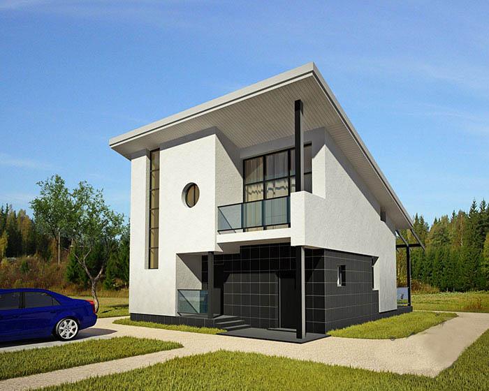 Casa de madera casas prefabricadas foto casa r 1398 - Casas de hormigon prefabricadas de diseno ...