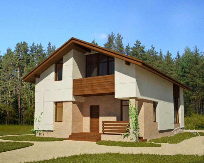 Casa de madera casas prefabricadas foto casa r 1422 - Casas prefabricada de madera ...