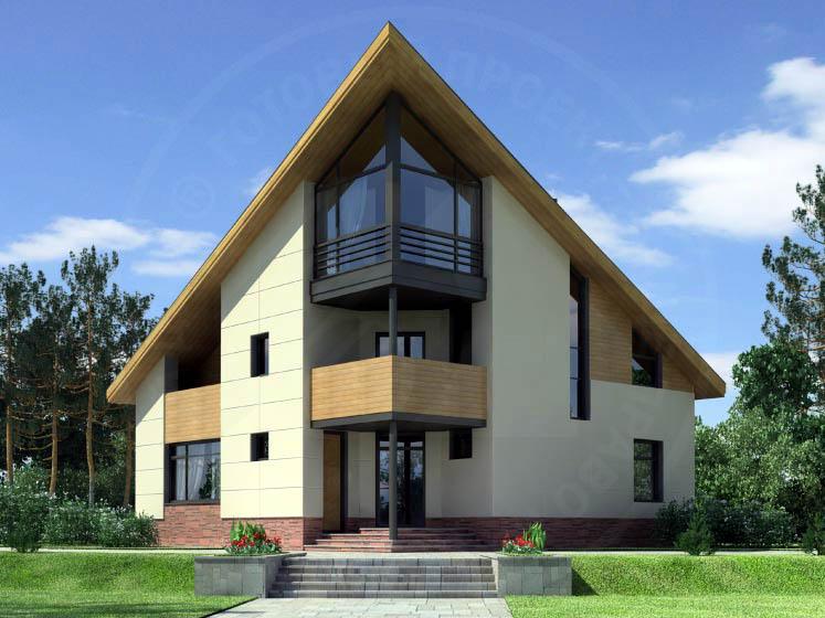 Casa de madera casas prefabricadas foto casa modelo r 1428 area 250 m2 terrazas 42 m2 - Casas de madera fotos ...
