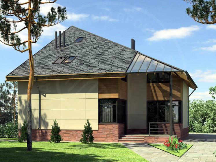 Casa de madera casas prefabricadas foto casa modelo r for Casas prefabricadas para terrazas