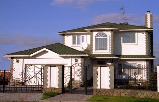 Revestimiento de casas prefabricadas monocapa en casas - Casas americanas interiores ...
