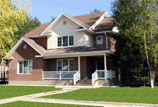 Casa de madera casas prefabricadas foto casa modelo adagio - Casas prefabricadas americanas en espana ...