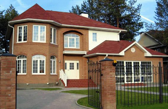 Casa de madera casas prefabricadas foto casa modelo adagio for Fotos de fachadas de chalets