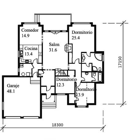 Casas americanas prefabricadas casas de madera y mas - Casas de madera y mas com ...