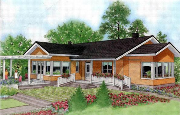 Casas prefabricadas foto casa de madera modelo suomi 165 m - Modelos casas madera ...