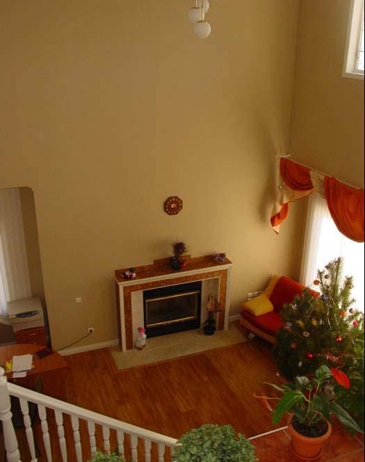 Casas prefabricadas salon tipo loft for Interiores de casas prefabricadas