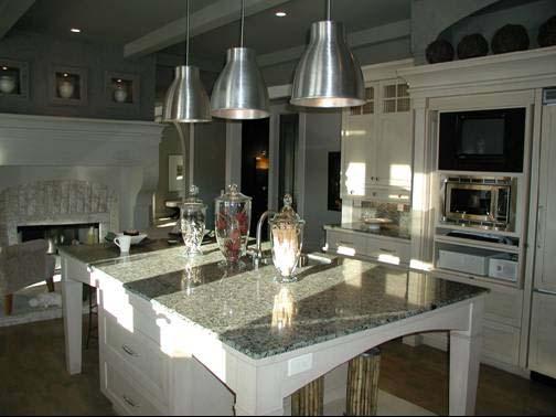 Casa de madera casas prefabricadas cocina americana for Interiores de casas prefabricadas