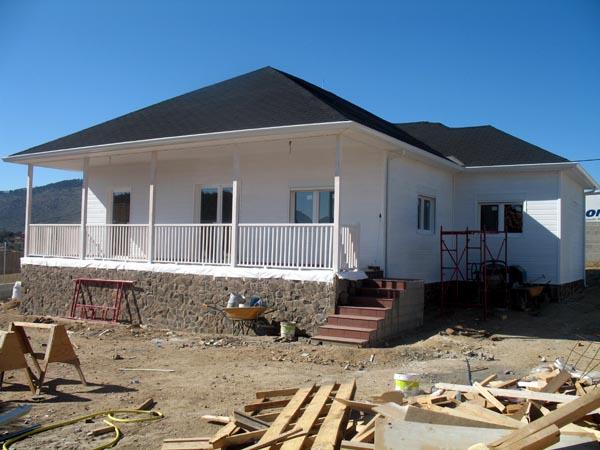 Acabado de canexel en casa de madera casas prefabricadas - Casas de canexel ...