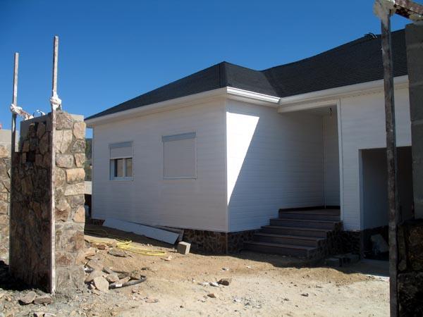 Casa de madera canexel casas prefabricadas exteriores - Canexel casas de madera ...
