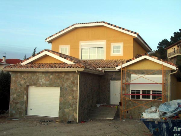 Casa de madera casas prefabricadas foto casa de madera - Casas americanas interior ...