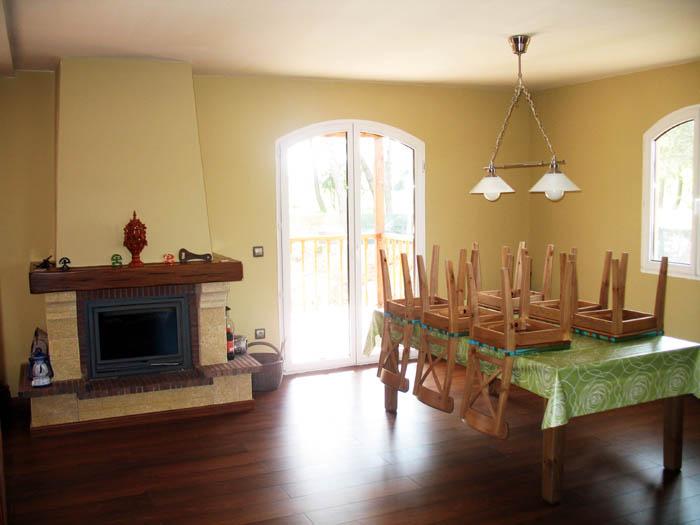 Casa de madera casas prefabricadas foto casa de madera for Interiores de casas prefabricadas