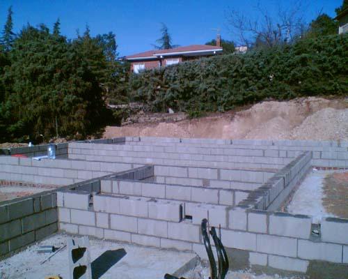 Cimentacion en casa de madera cimentacion de casas - Casas de madera y hormigon ...