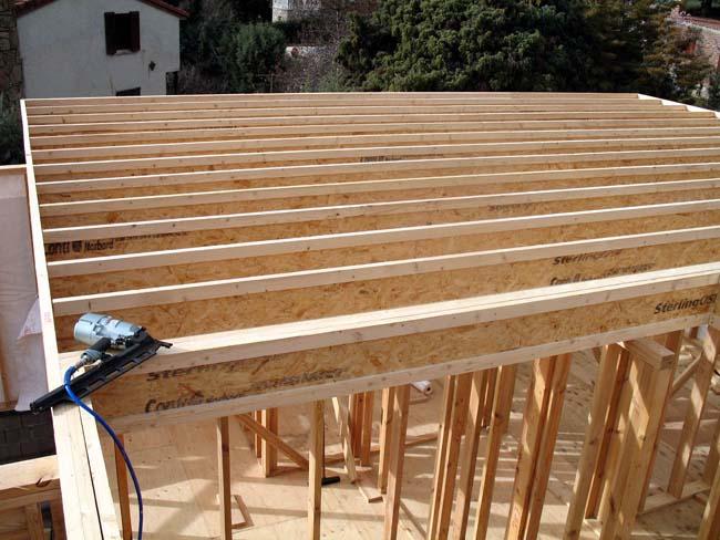 Estructura de madera casas prefabricadas con estructura - Estructura casa de madera ...