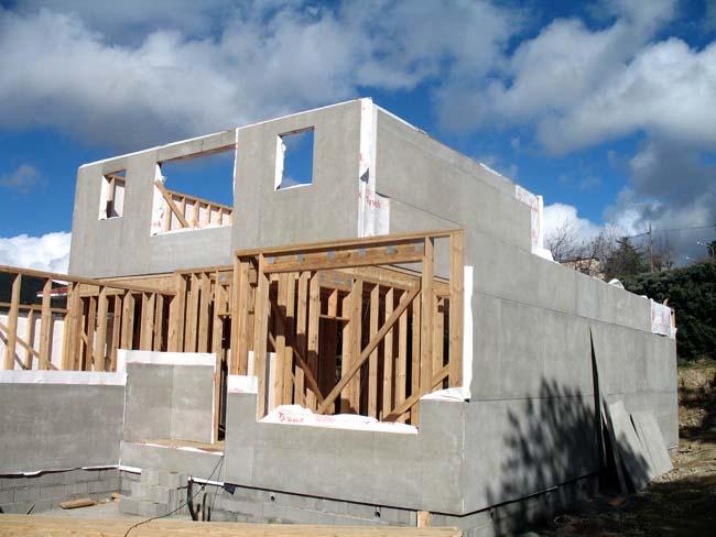 Estructuras de la construcci n - Estructura casa madera ...