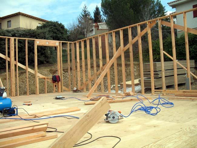 Casas prefabricadas madera casas con estructura de madera - Casas con estructura de madera ...